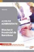 auxiliar administratiu diputacio provincial de barcelona. temari 9788499246949