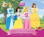 viste a las princesas (libro magnetico) 9788499515649