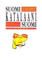 suomi katalaani suomi (diccionario bilingüe finlandes-catalan-fin landes)-9789517962049