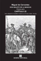 don quijote de la mancha. primera parte. capítulo 22 (texto adaptado al castellano moderno por antonio gálvez alcaide) (ebook)-cdlap00002649