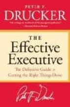 effective executive-peter ferdinand drucker-9780060833459