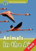 oxford discovery readers 3 (ord): animals in the air audio pack-9780194644259