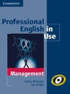 professional english in use management paperback with answers-arthur mckeown-9780521176859