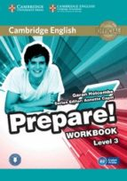 cambridge english prepare! 3 workbook with audio-9780521180559