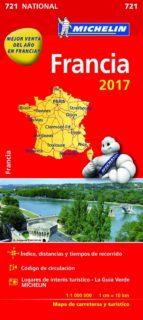 mapa national francia 2017 9782067218659