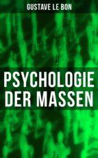 psychologie der massen (ebook) 9788027216659