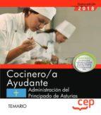 oposiciones gobierno del principado de asturias cocinero/a ayudante temario-9788413105659