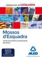 mossos d esquadra. temari de l àmbit a: coneixements de l entorn 9788414208359