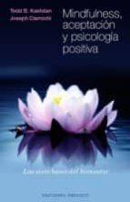 mindfulness, aceptación y psicología positiva-todd b. kashdan-9788415968559