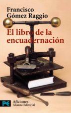 el libro de la encuadernacion-francisco gomez raggio-9788420638959