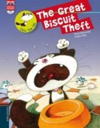 the great biscuit theft (incluye cd) (coco the cat)-gerard moncomble-9788426389459