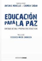 educacion para la paz-antonio monclus-9788432919459