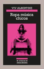 ropa música chicos viv albertine 9788433926159