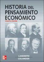 historia del pensamiento economico (4ª ed.)-harry landreth-9788448150259