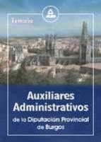 auxiliares administrativos de la diputacion provincial de burgos: temario-9788466519359