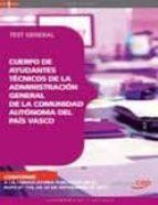 CUERPO DE AYUDANTES TECNICOS DE LA ADMINISTRACION GENERAL DE LA C OMUNIDAD AUTONO