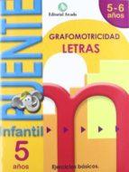 cuaderno grafomotricidad letras puente infantil 5 6 años 9788478875559