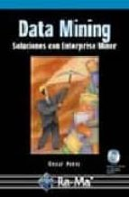data mining: soluciones con enterprise miner (incluye cd rom) cesar perez 9788478976959