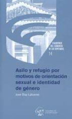 asilo y refugio por motivos de orientación sexual e identidad de género jose díaz lafuente 9788479435059