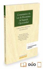 comentarios a la ley de mecanismo de segunda oportunidad lorenzo prats albentosa 9788491351559