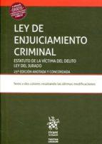 ley de enjuiciamiento criminal 25ª ed 2017 9788491691259