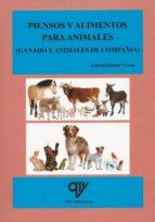 piensos y alimentos para animales (ganado y animales de compania)-antonio madrid vicente-9788494285059