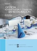 gestion administrativa y comercial en restauracion elena diaz paniagua miriam leon sanchez 9788497324359