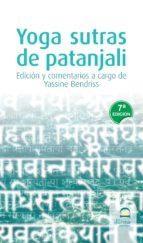 yoga sutras de patanjali (7ª ed.) 9788498270259