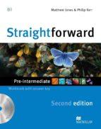straightforward pre-intermediate 2nd ed workbook pk with key-9780230423169