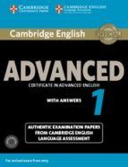 cambridge english advanced 1 for revised exam from 2015 student s book pack (student s book with answers and audio cds (2))-9781107654969