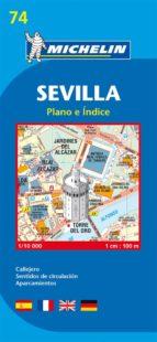 plano michelin sevilla (ref.19074) 9782067127869