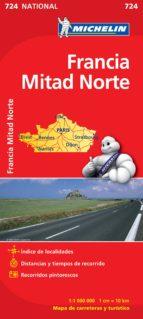 mapa francia norte 2012 (ref. 724)-9782067171169