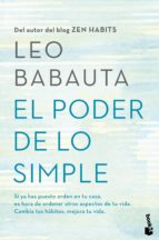 el poder de lo simple leo babauta 9788408158769