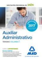 auxiliar administrativo de la diputacion provincial de jaen: temario (vol. 1)-9788414210369