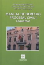 manual de derecho procesal civil, i. esquemas fernando jimenez conde 9788415668169