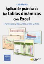 aplicación práctica de las tablas dinámicas con excel-luis muñiz gonzalez-9788416115969