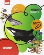 natural science 3º primaria activity book (madrid) ed 2015 9788416380169