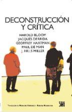 desconstruccion y critica jacques et al. derrida harold et al. bloom 9788432314469
