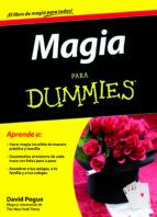 magia para dummies david pogue 9788432920769