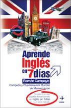 aprende ingles en 7 dias ramon campayo 9788441419469