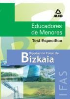 test especifico de educador de menores de la diputacion foral de bizkaia maria dolores et al ribes antuña 9788466560269