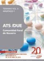 ATS/DUE COMUNIDAD FORAL DE NAVARRA. TEMARIO APARTADO 1 VOL. II.