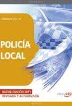 POLICIA LOCAL: TEMARIO VOL. III.