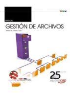 manual. gestión de archivos. edición internacional-9788468159669
