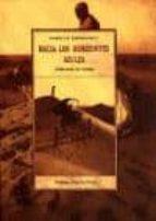 hacia los horizontes azules: seleccion de textos isabelle eberhardt 9788476515969