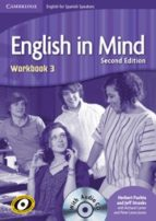english in mind for spanish speakers level 3 workbook with cd-9788483234969
