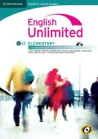 english unlimited elementary coursebook with e-portfolio. spanish ed.-9788483237069