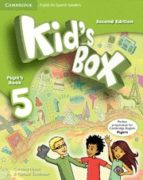 kid s box ess 5 2ed pb/hm booklet-9788490364369