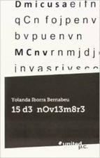 15 d3 n0v13m8r3 (ebook) 9788490720769