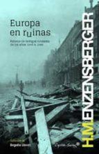 europa en ruinas hans magnus enzensberger 9788494169069